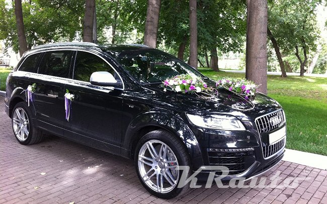 Аренда Audi Q7 на свадьбу Кривой Рог