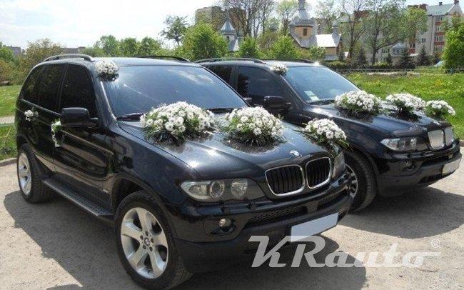 Аренда BMW X5 E53 на свадьбу Кривой Рог