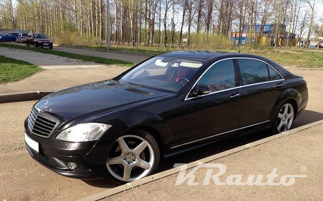 Аренда Mercedes S-Class W221 на свадьбу Кривой Рог