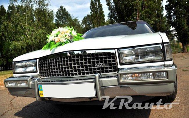 Аренда Cadillac De Ville на свадьбу Кривой Рог