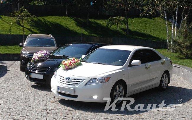 Аренда Toyota Camry 40 на свадьбу Кривой Рог