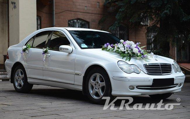Аренда Mercedes C-Class на свадьбу Кривой Рог