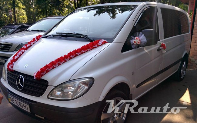 Аренда Микроавтобус Mercedes Vito на свадьбу Кривой Рог