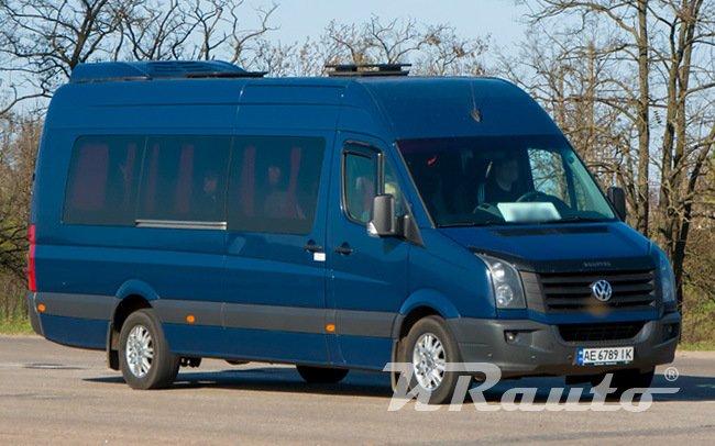 Аренда Микроавтобус Volkswagen Crafter на свадьбу Кривой Рог