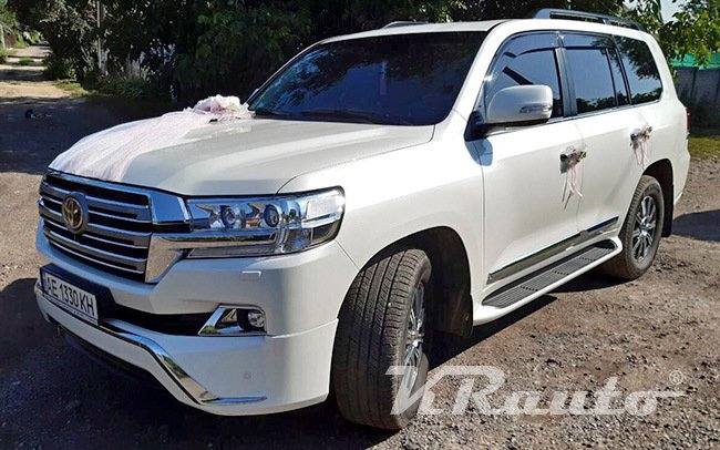 Аренда Toyota Land Cruiser 200 на свадьбу Кривой Рог