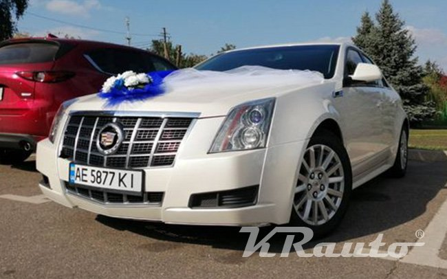 Аренда Cadillac CTS на свадьбу Кривой Рог